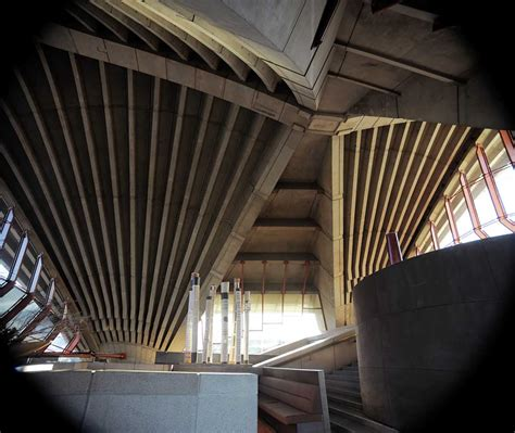 interior structure of house preserving the future of the sydney opera house