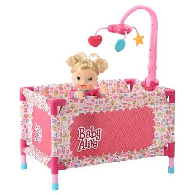 baby alive doll deluxe play yard target