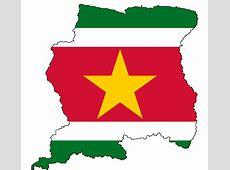 Vlag Suriname Foto Sanne de Greef's reisblog