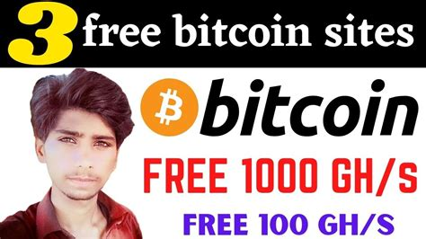 With arc, you help share this site's content with others to support it. 3 free bitcoin sites, Earn free Btc | FREE 1000 GH/s Earn money online - YouTube