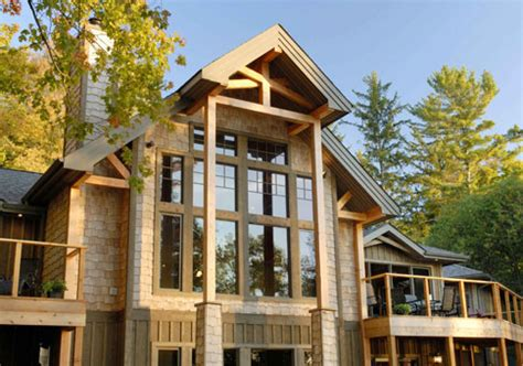 Post Modern House Plans by Post Beam Custom Retreats Cottages Post Beam Homes
