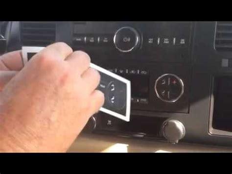 carsfordj gm ac climate control repair decals stickers