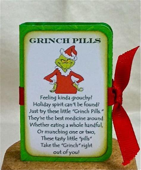snowman poops grinch pills christmas gift ideas
