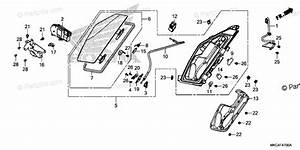 Honda Motorcycle 2018 Oem Parts Diagram For Pocket