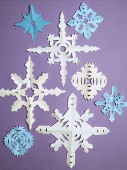 flocon de neige en papier flocons de neige en papier momes net