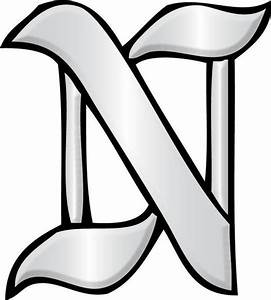 letter n glass alphabet bevel clusters the avenue With glass alphabet letters