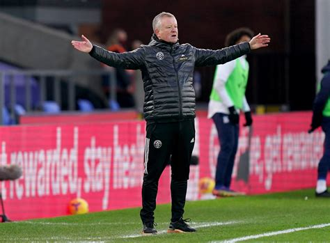 Chris Wilder believes Sheffield United have nothing to ...