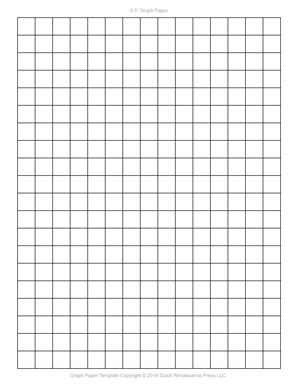 graph paper template  letter printable