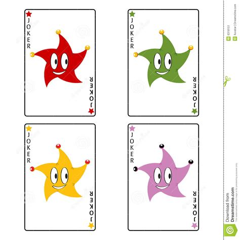 funny poker playing cards stock image image
