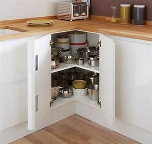 Meuble Angle Cuisine : accessoires meubles d 39 angle houdan cuisines ~ Teatrodelosmanantiales.com Idées de Décoration