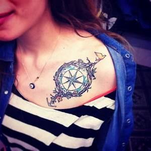 40 Collar Bone Tattoo Ideas For Girls
