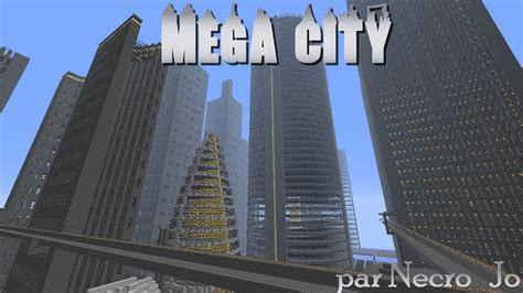 map ville moderne futuristic city area 73 5 minecraft aventure
