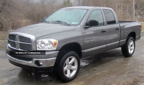 2007 Dodge Ram by 2007 Dodge Ram 1500 Slt Crew Cab 4 Door 4 7l