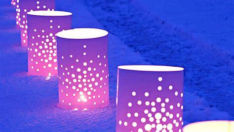 christmas luminary lights luminaries