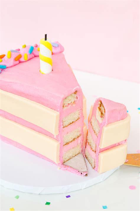 » Giant Cake Slice Cake + Aww Sam's 2nd Birthday