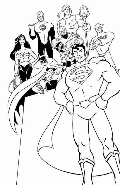 Justice League Coloring Pages Printable Lego Comic