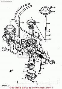 Suzuki Dr800 1990  Sl  Carburetor