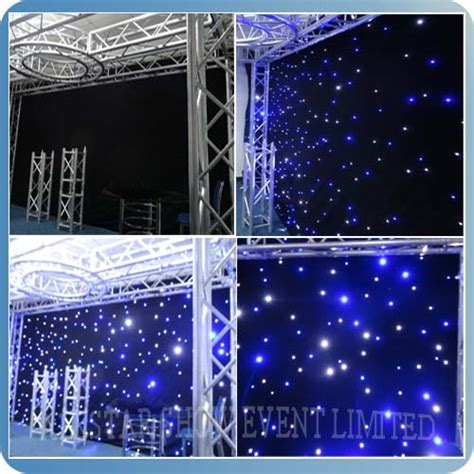 led curtain trade show