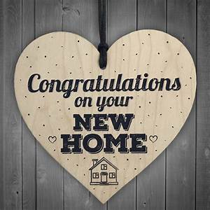 Congratulations, New, Home, Plaque, First, House, Friendship, Family