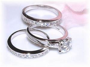wedding ring 3 piece sets cool navokalcom With three piece wedding ring sets