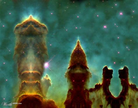Eagle Nebula Pillars - Worth1000 Contests