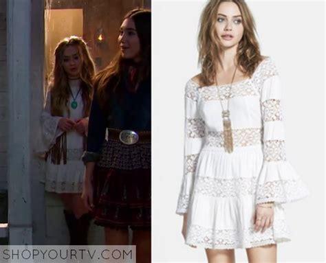 D00151 Sabrina Flow Dress meets world season 2 episode 21 s white lace