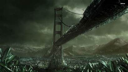 Conquer Command Fantasy Wallpapers Bridge Apocalyptic Backgrounds
