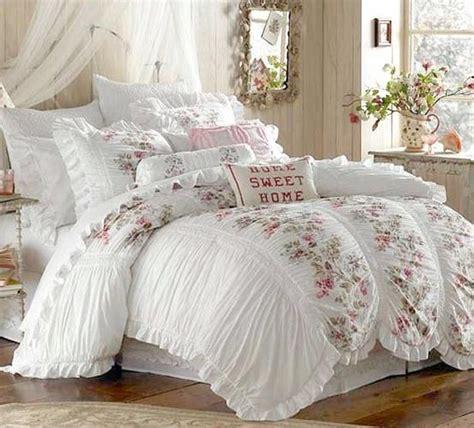 shabby chic like bedding shabby chic ruffled comforter shabby boho vintage iv pinterest