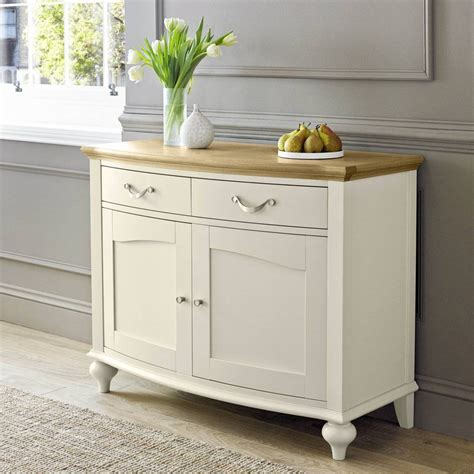 20 Photo Of White Distressed Sideboard