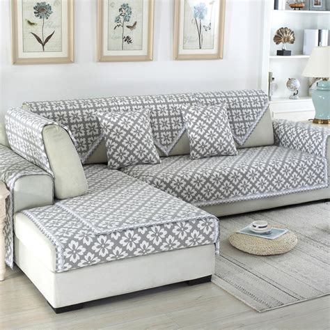 Cover For Couches by Jacquard Sofa Covers Sofa Towel Cotton Linen Fabric Four