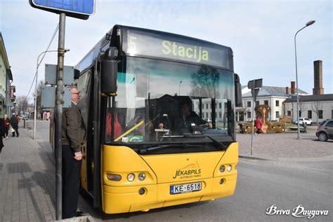 Izmaiņas pilsētas autobusu kustībā | Brīvā Daugava
