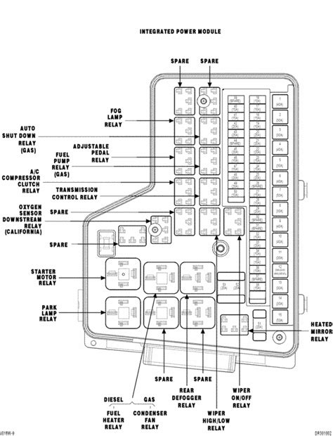 1994 Dodge Ram Fuse Box Diagram by 1994 Dodge Dakota Wiper Parts Diagram Downloaddescargar