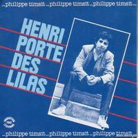 chanson henri porte des lilas henri porte des lilas par philippe timsit fiche chanson b m