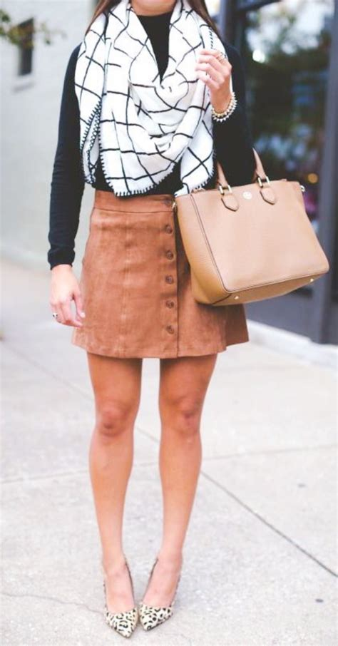 40 u0026quot;The Instagram Girlu0026quot; Fall Outfits With Skirts - Buzz 2018