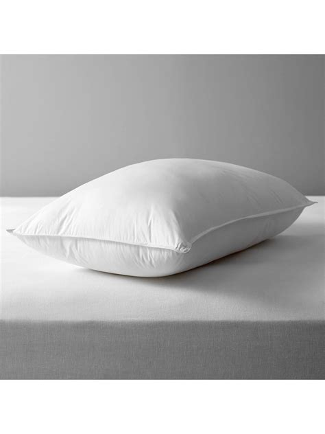 John Lewis & Partners Synthetic Soft Like Down Standard