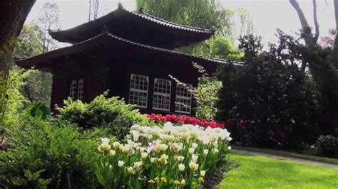 Japanischer Garten Leverkusen Japanese Garden Youtube