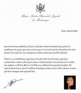Lettre Deces : l 39 mouvante lettre de nicolas de mont n gro noblesse royaut s ~ Gottalentnigeria.com Avis de Voitures