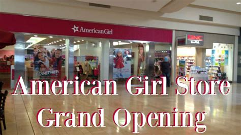 american girl doll store opening mission viejo