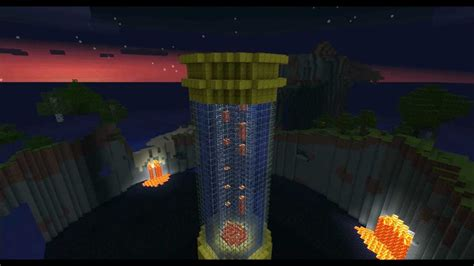 Minecraft Redstone Lamps by Minecraft Build Contest Lava Lamp Youtube