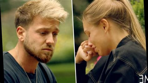 Did zara mcdermott cheat on sam thompson? Zara McDermott breaks down in tears as Sam Thompson tells ...