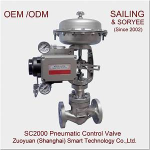 China 1 U0026quot  Sc2000 Pneumatic Globe Or Cage Control Valve