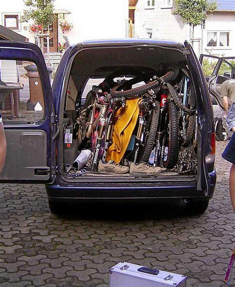 fahrrad im auto transportieren welcher kombi hat die l 228 ngste ladefl 228 che wer weiss was de