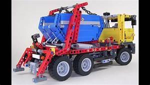 Lego Technic Camion : lego technic camion conteneur jouets pour les enfants ~ Nature-et-papiers.com Idées de Décoration