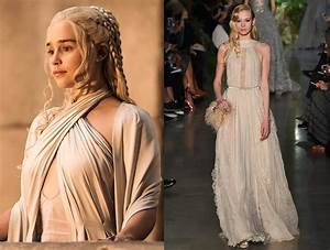 Game Of Thrones And Khaleesis Fashion Influence On The