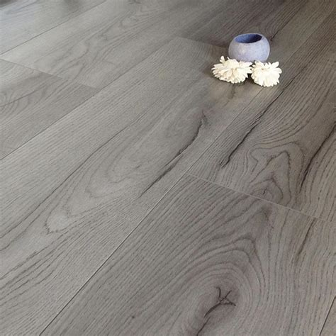 Prestige Oak Grey 8mm V Groove Laminate Flooring 4175