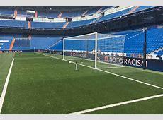La novedad en las porterías del Santiago Bernabéu