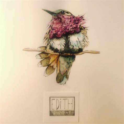 Edith Watercolor 1080x1080 Px Art