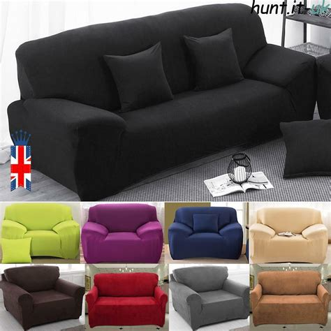 Sofa Covers 3 Seater by 1 2 3 Seater Sofa Slipcover Stretch Protector Soft