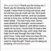 She Wrote God T...