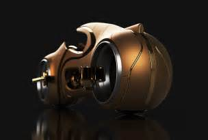 The Tron Light Cycle gets the Midas Touch! | Yanko Design